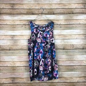 Romeo + Juliet Couture • Floral Sleeveless Blouse